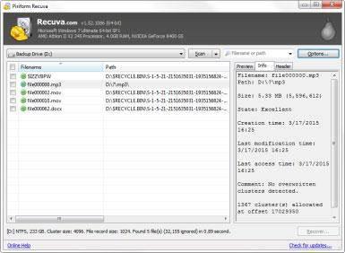 Softwares Gratis para Recuperación de Tarjetas de Memoria