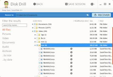Software gratuito para recuperación de tarjetas de memoria: Disk Drill