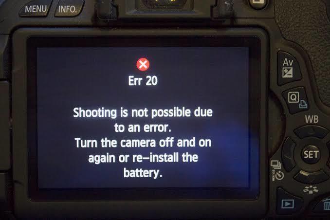 Erro 01 Canon