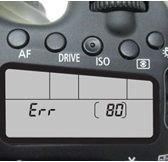 Erreur 80 de Canon