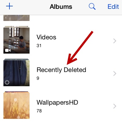 recupera fotos eliminadas de iphone