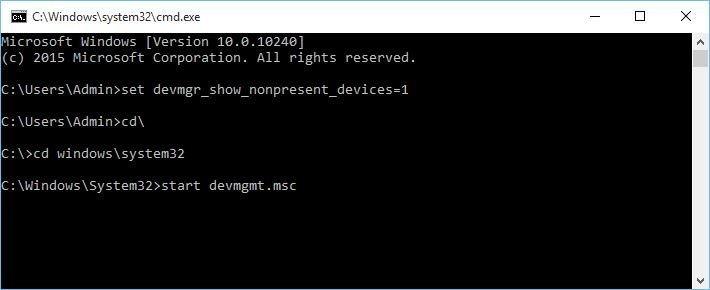 cd windowssystem32