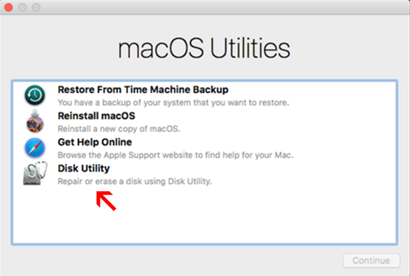 mac disk utility tool to repair hard disk