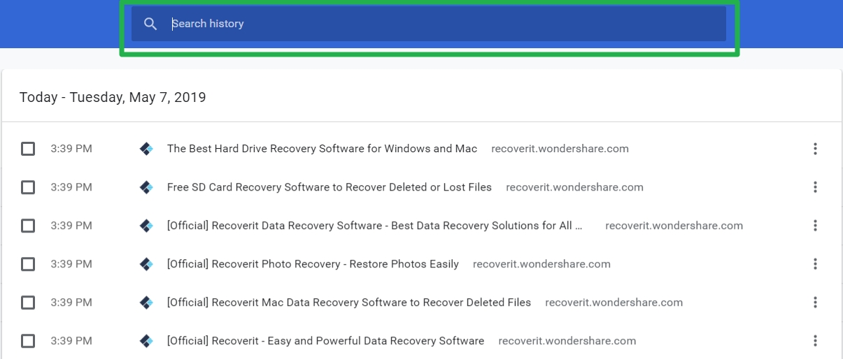 How to Recover Deleted History on Mac Google Chrome or