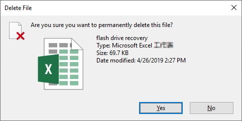 recover shift delete files