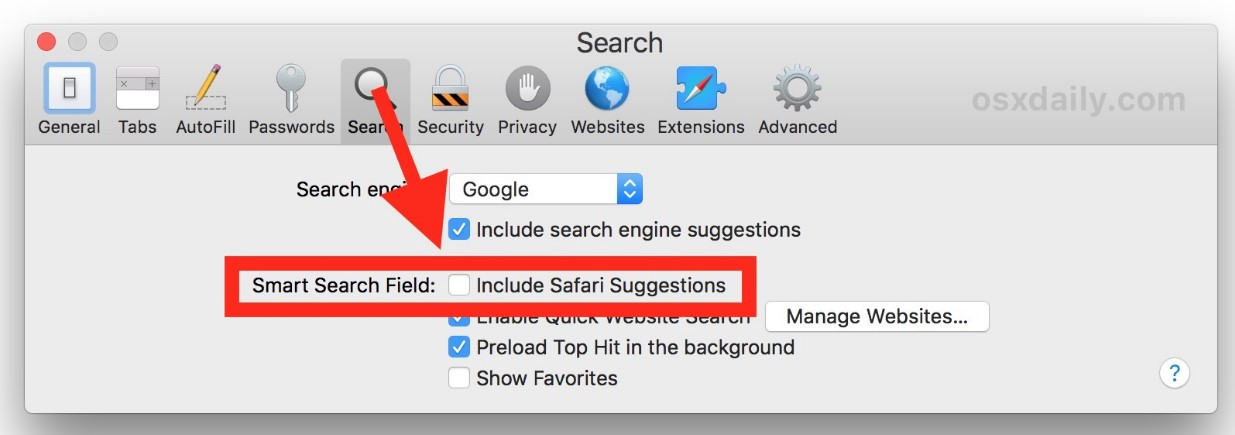 disable-search-suggestions