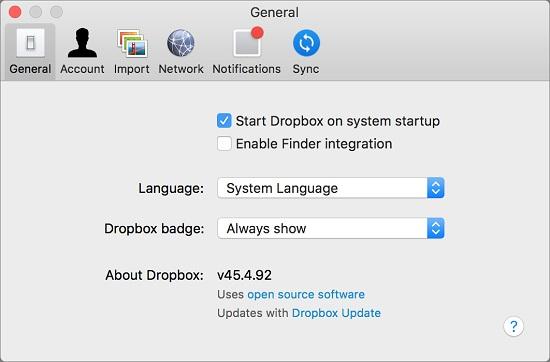 dropbox-system-startup