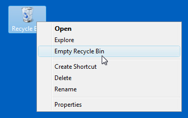 empty-recycle-bin