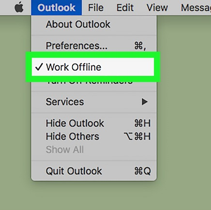 work-offline-outlook