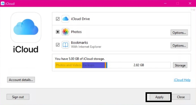how-to-download-icloud-on-windows-8