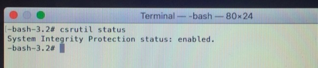 turn off SIP on Mac