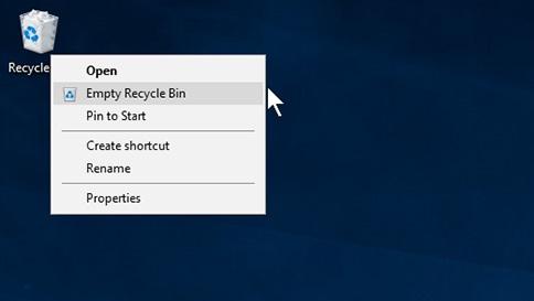 empty-recycle-bin