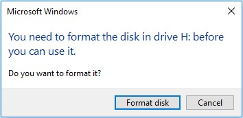 format-the-disk
