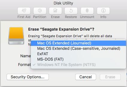 reformat hard drive