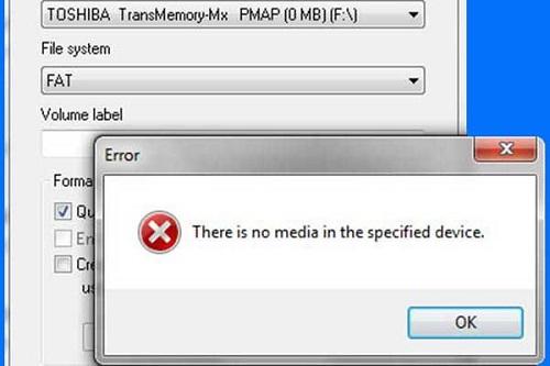 Obteve o erro do USB sem mídia?, Veja aqui como corrigir!