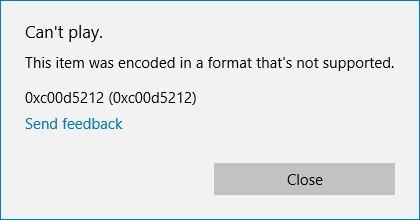 0xc00d5212-error-message