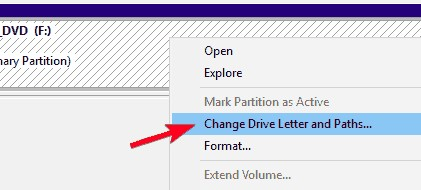 Change-the-drive-letter