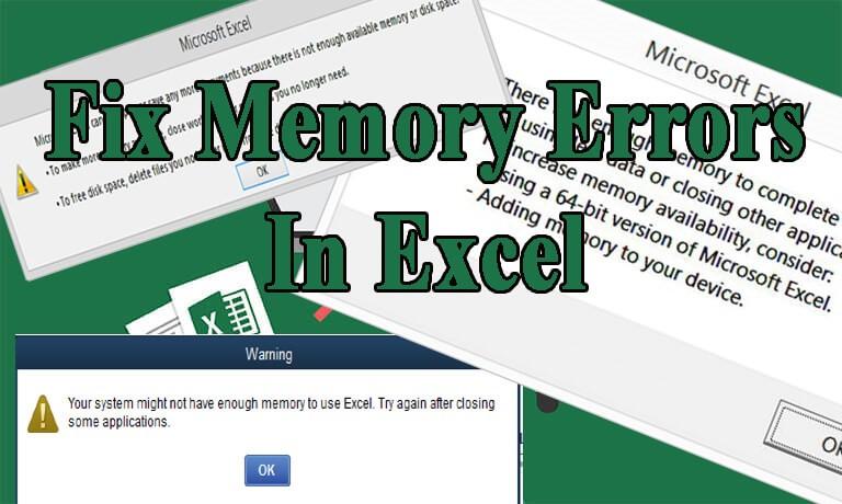 fix-excel-not-enough-memory