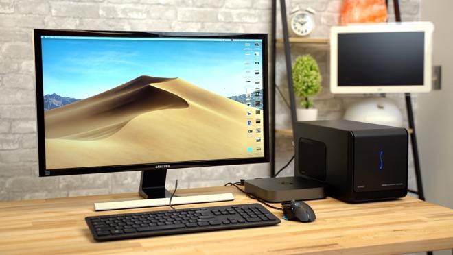 GPU connected to a Mac mini