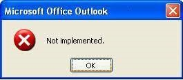 outlook-not-implemented-2