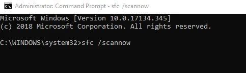 use command prompt