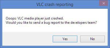 vlc crashing 2