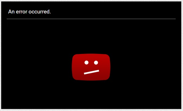 youtube problem 1