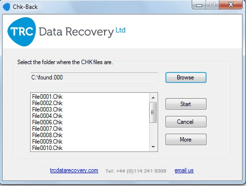 chk file recovery 4