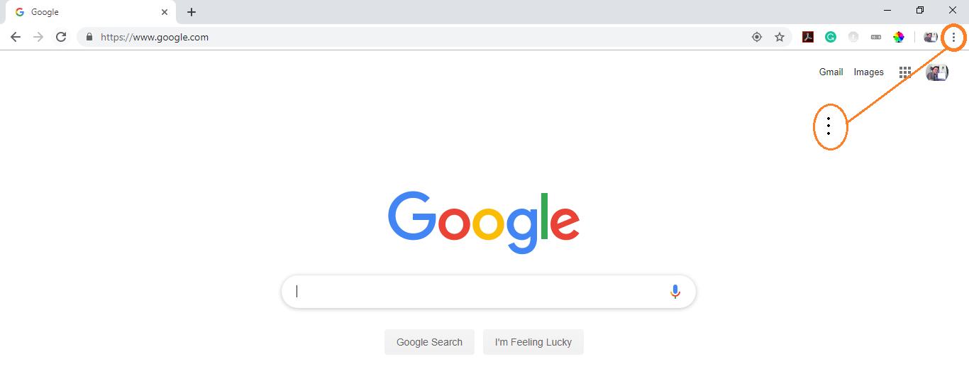 three dots menu icon