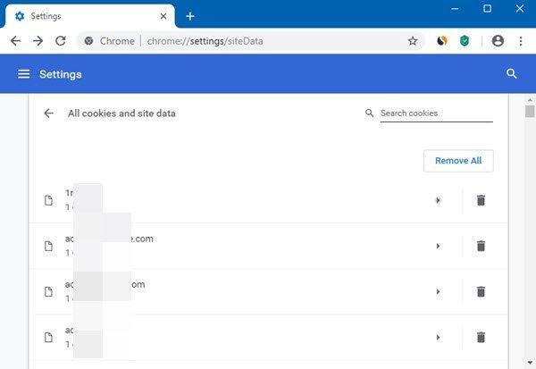 delete specific data