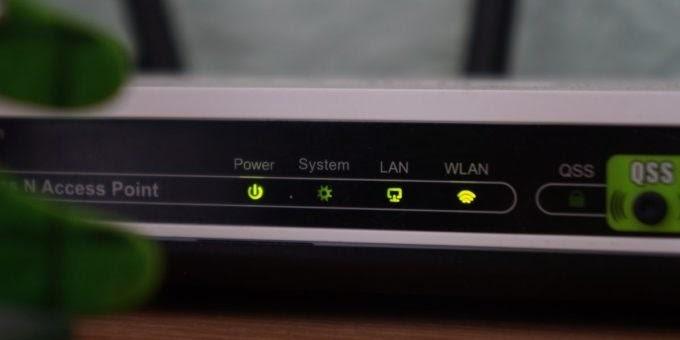restart router and modem