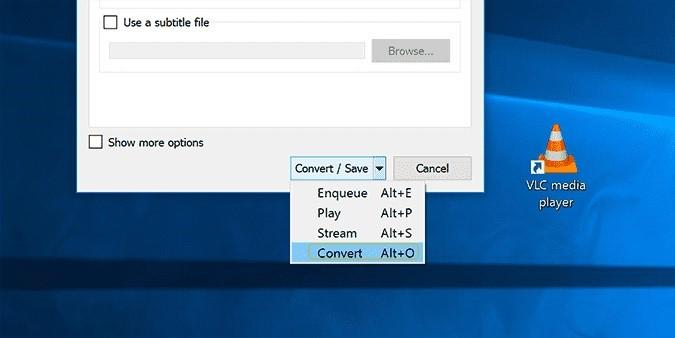 convert opened file