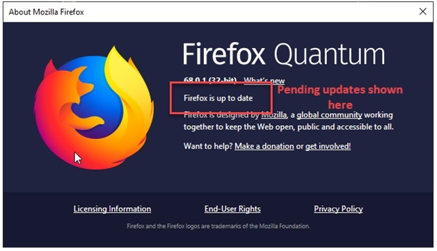 How to update Firefox