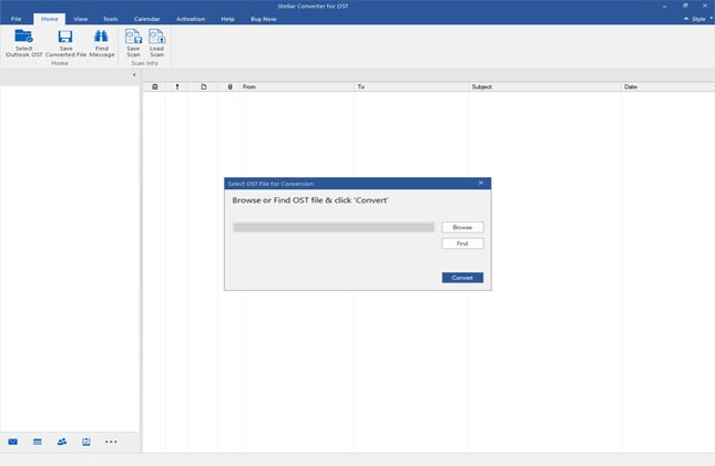 Select Outlook OST File