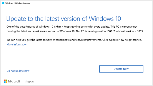 play videos by updating windows 10