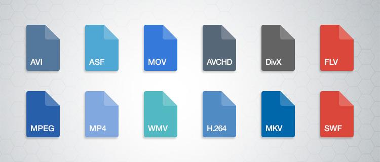 Particular Video Formats