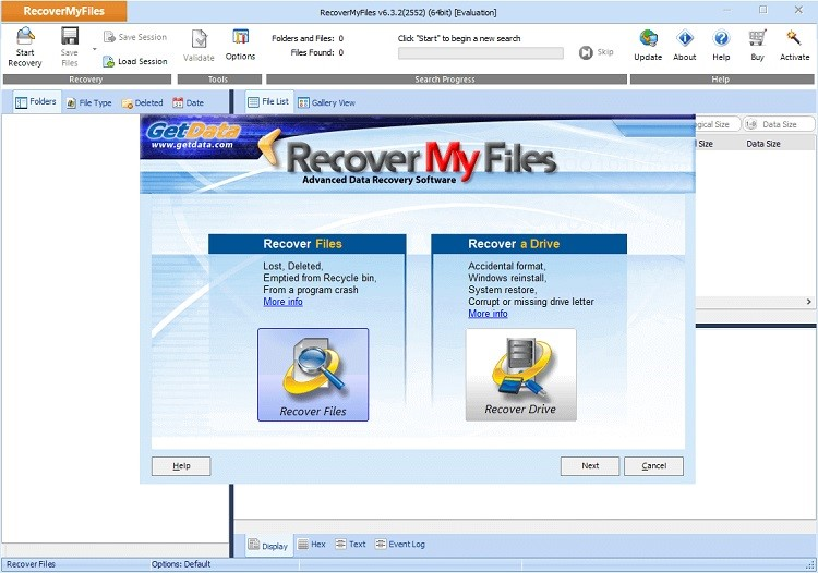 disk recovery 10