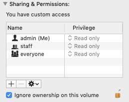 ignoring ownership 1