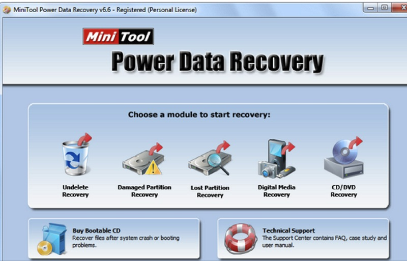mini tool power data recovery