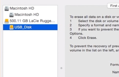mount using disk utility image 2