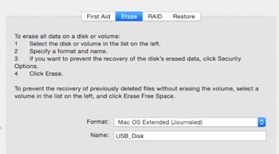 reformat unmounted apfs drive image 3
