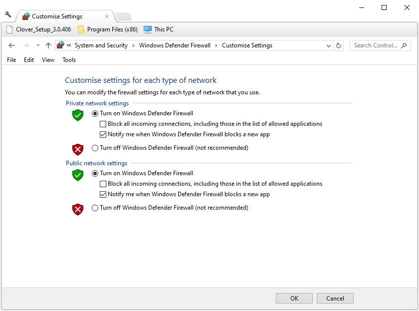 turn off windows defender firewall 2