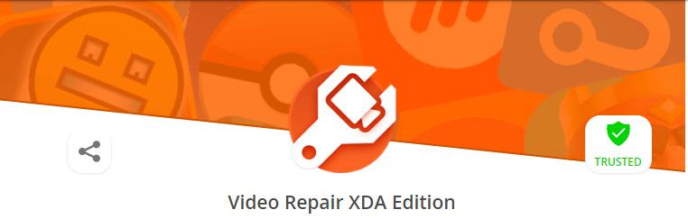 video repair xda edition