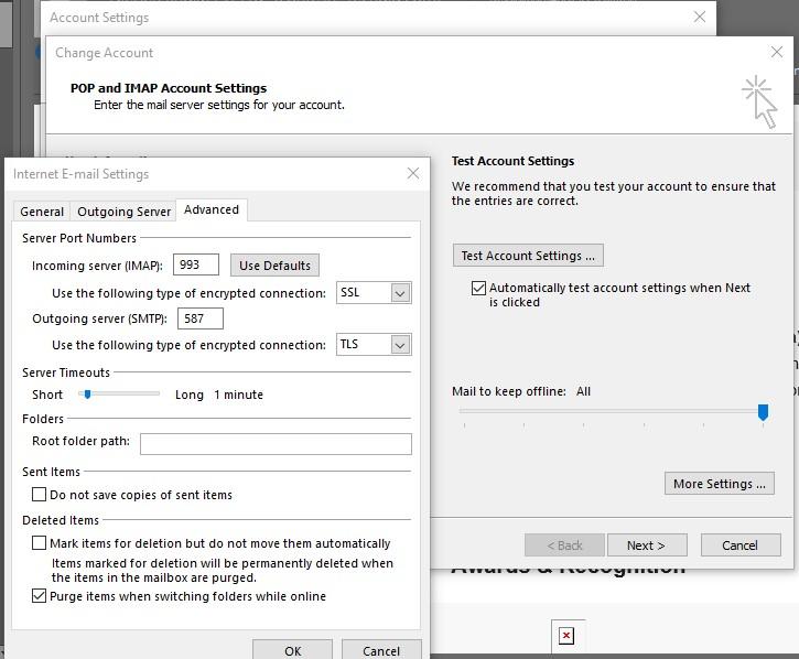 How do I Fix Outlook Error 503 valid RCPT command must precede DATA 2