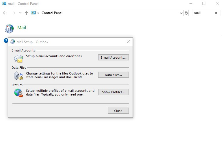 Solved Error 0x8004010F Outlook Data File Cannot Be Accessed