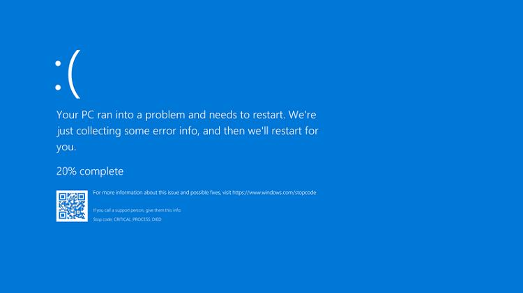 blue dump error 1