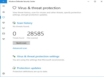 check for viruses image 1