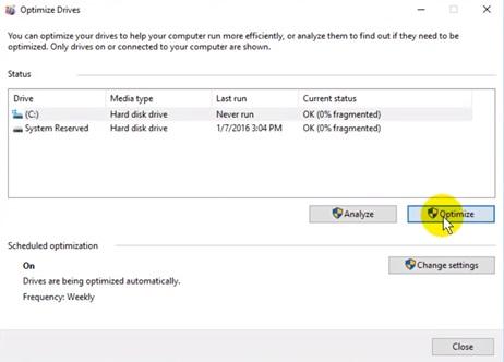 defrag disks image 2