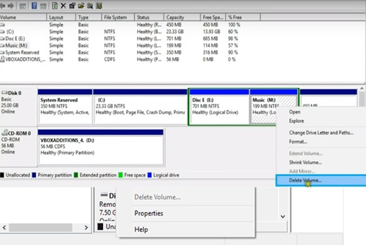 delete recovery drive image 1