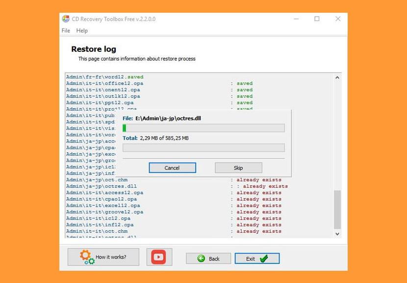 file restoration software 10